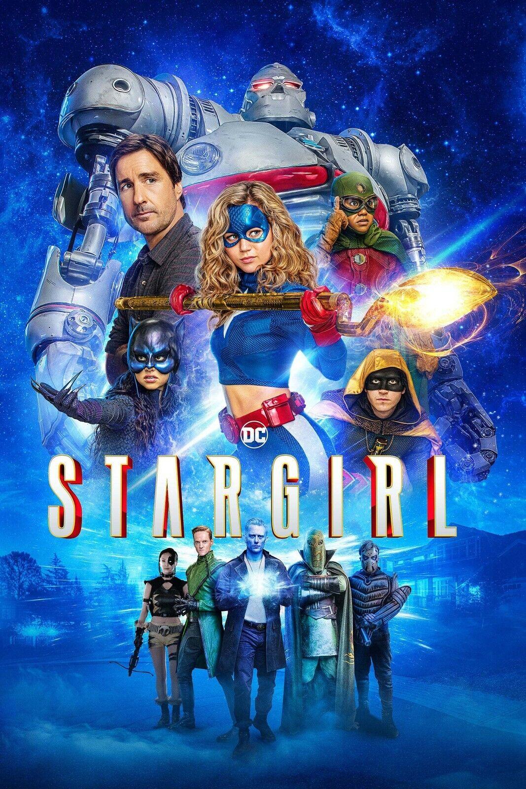 "CW- STAR GIRL 11""x17"" TV SERIES POSTER PRINT #3"