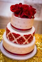Halal custom WEDDING cake cupcake favour decor sweet party