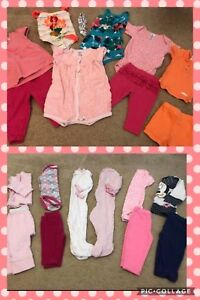 3-6 Month Baby Girl Sets $1 per item