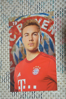 Mario Götze Bayern München 2014 AGK unsigniert