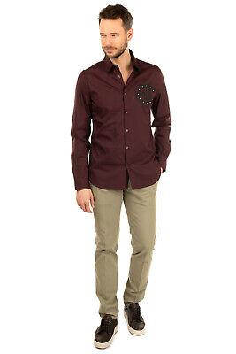 RRP €200 INCOTEX Chino Trousers Size 48 M Stretch Garment Dye High Comfort Slim