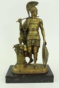 Bronze Roman Warrior