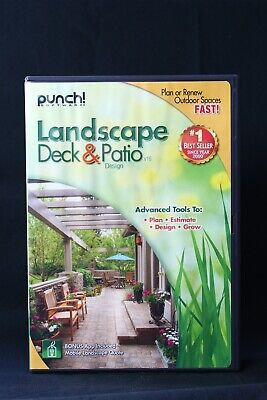 Punch Landscape, Deck, & Patio Designer Landscaping Deck Designer