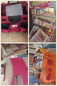Scrap booking books, paper, cutters etc Chandler Brisbane South East Preview