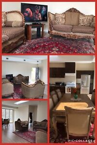 Luxurious furnished two bedroom unit.
