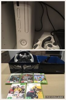 Wanted: Xbox 360 with steering wheel