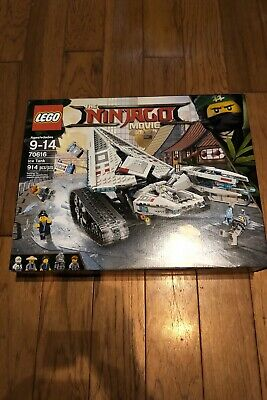 LEGO The LEGO Ninjago Movie Ice Tank 2017 (70616). Brand new. Sealed. Free Ship