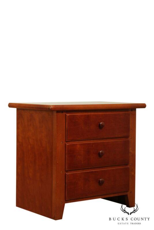 Thomasville Cherry 3 Drawer Nightstand