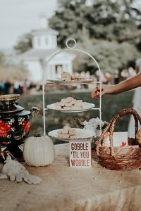 Harvest wedding decor!