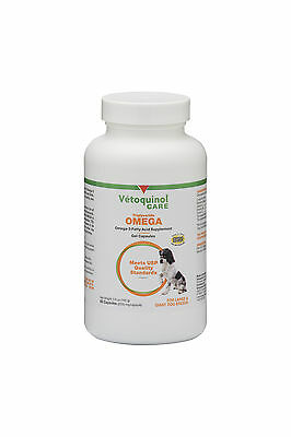 Vetoquinol Triglyceride Omega Capsules   Large Dog    60 Capsules