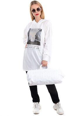 RRP €315 MM6 MAISON MARGIELA x OTB Tote Bag Printed Inside Slouchy Made in Italy
