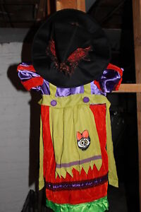 Witch halloween costime size 3T