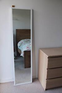 Mirror with white frame 40cm x 160cm Woolloomooloo Inner Sydney Preview