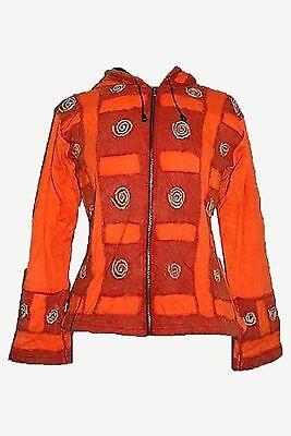 Outdoor Traders (Agan Traders RJ 31 Orange Swirl Fleece Lined Bohemian Outdoor)