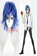 Medium Blue Cosplay Wig