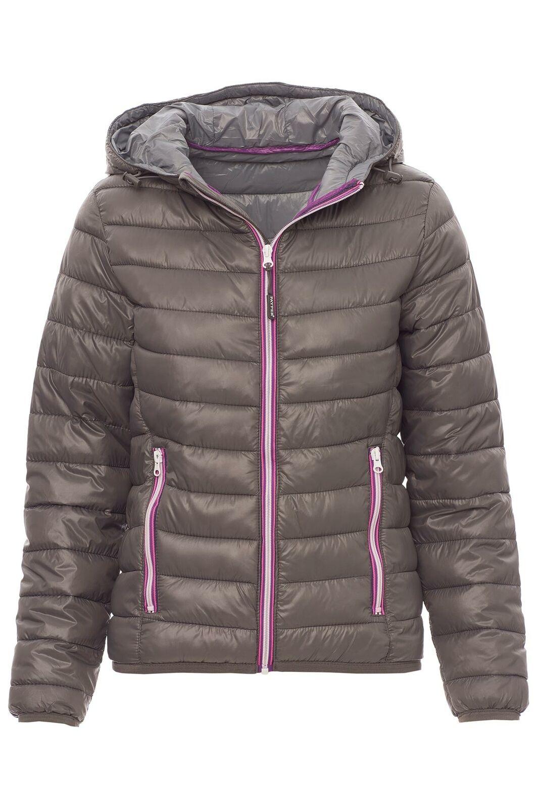 Damen Steppjacke Übergangsjacke Kapuze Winterjacke Jacke Damenjacke Sweatjacke