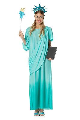 Wilbers Damen Kostüm Freiheitsstatue Gr. 46 - Liberty - Freiheitsstatue Kostüm