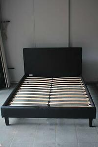 Double Size Black Leather Bed, very good condition Bridgeman Downs Brisbane North East Preview