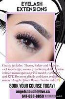 Eyelash Extensions Professional Training $400