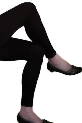 Leggings Microfibra Leggings Negro Largo Sport Saco Lavandería