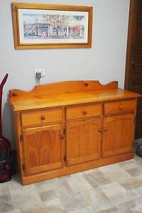 Kitchen cabinet / Pinewood dresser Wheelers Hill Monash Area Preview