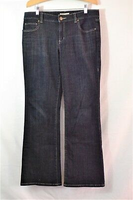 Used, CAbi STYLE# 652R Dark Wash Boot Cut Jeans Size 8 x 30 for sale  San Jose