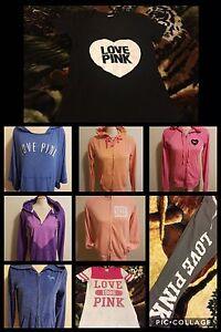 PINK by VS hoodies, sweatpant, and tees
