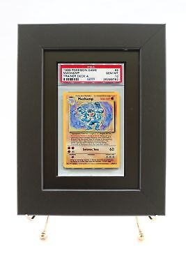 PSA Pokemon Card Framed Display (New Black Design)