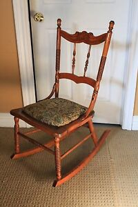 Rocking chair $25