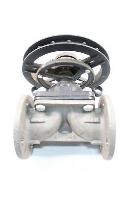 Hills Mccanna Fig No. 31 Stainless Flanged 3in Diaphragm Valve