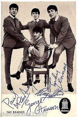 The Beatles ++Autogramm++ ++Kultgruppe der 60er Jahre++