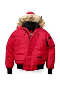 Red Canadian Goose Jacket