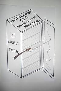 """WESTINGHOUSE  FREEZER  """" WANTED """" Valley View Salisbury Area Preview"""