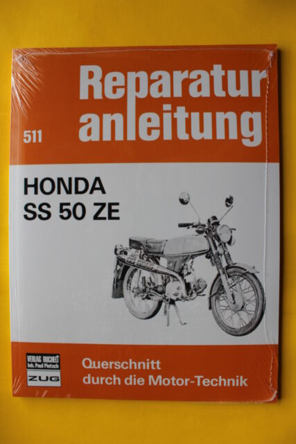 Honda SS 50 ZE Moped ss50 ab 1973  Reparaturanleitung Handbuch