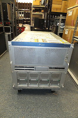Sun Oracle Enterprise M5000 Server 4X Sparc64 Vii 2 53Ghz Quad Core 96Gb Ram   B