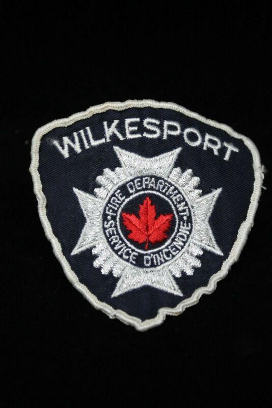 Canadian Wilkesport Fire Patch