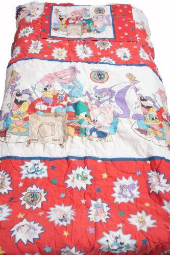 Tiny Toon Adventures Warner Bros Comforter Queen Quilt & Sheet Set Vintage
