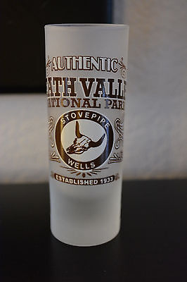 2 Pack  Authentic Death Valley National Park Stovepipe Wells Glass Shot Glass