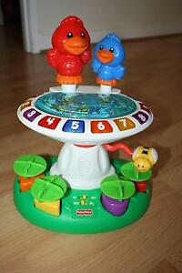 Fisher Price Bird Bath Music & Numbers Woody Point Redcliffe Area Preview