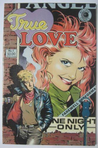 TRUE LOVE #1 ECLIPSE COMICS 1986 DAVE STEVENS COVER