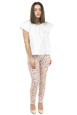 RRP €200 OPENING CEREMONY Top Blouse Size 6 / M White Short Sleeve Round Neck