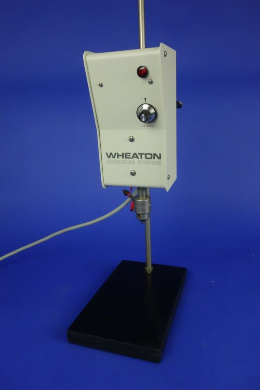Wheaton Variable Speed Overhead Laboratory Stirrer with Stand - Excellent