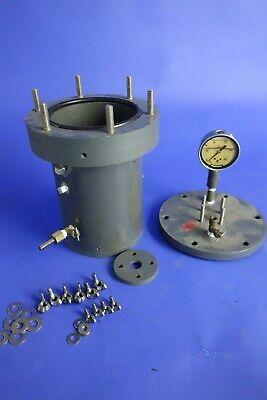 High Pressure Pvc Reactor Reaction Chamber Pressure Vessel Parr