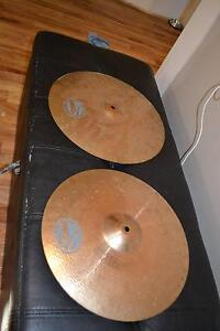 """MEINL 15"""" & 16"""" DRUM CYMBALS (made in Germany) Wights Mountain Brisbane North West Preview"""