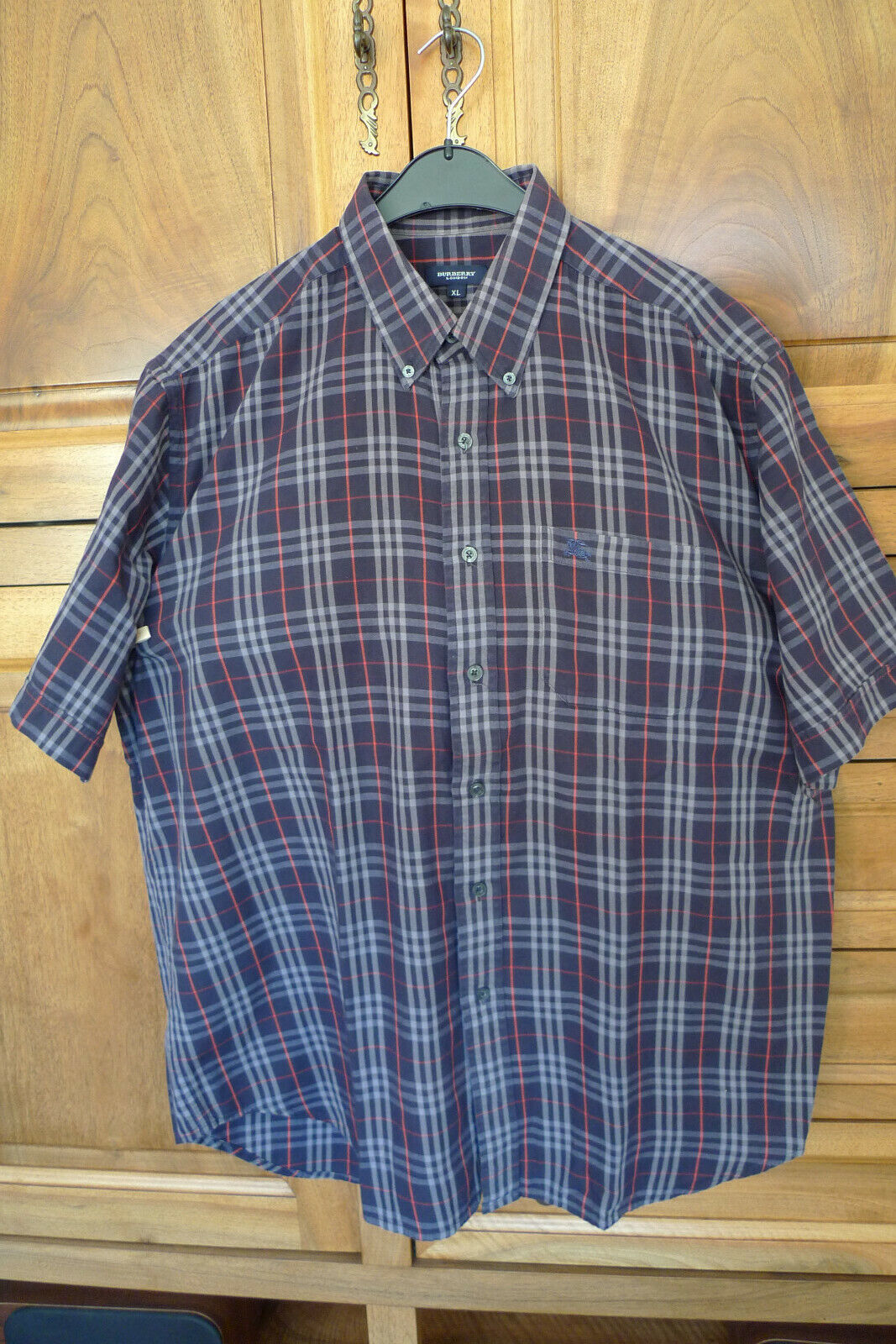 Chemise burberry manches courtes taille xxl