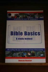 FREE Book Bible Basics: A Study Manual (Understanding the Bible) Ingleburn Campbelltown Area Preview