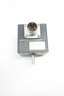 Accu-coder 716-s Incremental Shaft Encoder 6mm 30v-dc