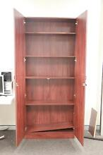 Tall lockable wooden cabinet with 5 internal shelves Woolloomooloo Inner Sydney Preview