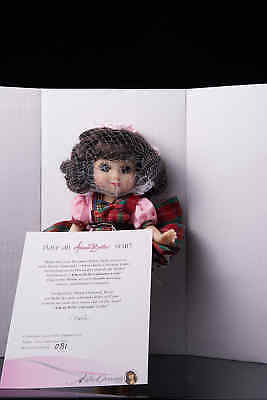 "MARIE OSMOND ""ADORA BELLE CALENDAR GIRL SEPT"" -VINYL ARTICULATED DOLL-NRFB"
