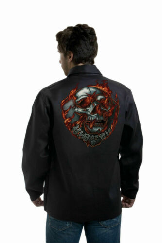 "Tillman 9062 Onyx  FR Welding Jacket ""Weld or Die"" Various Sizes Small-3XLarge"